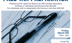 Free Tax Prep for Low-Income Families 3/6/15