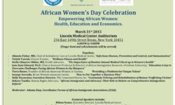 African Women's Day Celebration 3/31/15