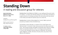 Standing Down: A Reading & Discussion Group for Veterans