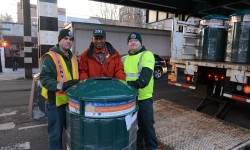 Council Member King and DSNY Commissioner Garcia Announce New Trash Receptacles Being Placed Throughout The 12th Council District