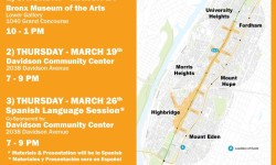 Jerome Avenue Study Open House