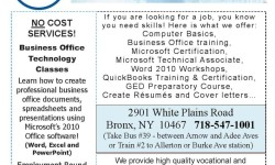 SUNY North Bronx – Free Training Programs!