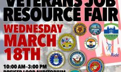 Veterans Invited to Attend 2015 Veterans Job & Resource Fair, Vendor Booths still available