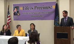 SENATOR JEFF KLEIN AND COMUNILIFE'S – LIFE IS PRECIOUS PROGRAM HOLD LATINA TEEN SUICIDE PREVENTION ROUNDTABLE