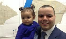Crespo and daughter Graciela