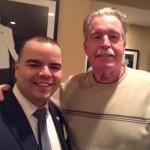 Democratic County Chair Marcos Crespo with Democratic State Committeeman Joe McManus