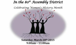 Women of Distinction in the 80th Assembly District Breakfast