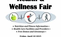 #Not62: Health & Wellness Fair 4/10/15