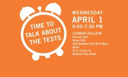 Group Challenging Standardized Testing Comes To Lehman College, Wednesday