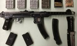 Tinted Window, Pot Arrest, Powerful SubMachine Gun, Jail