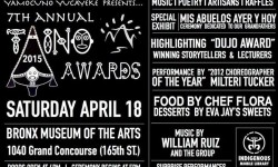 7th Annual Taino Awards 4/18/15
