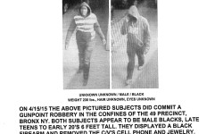 Wanted for Robbery