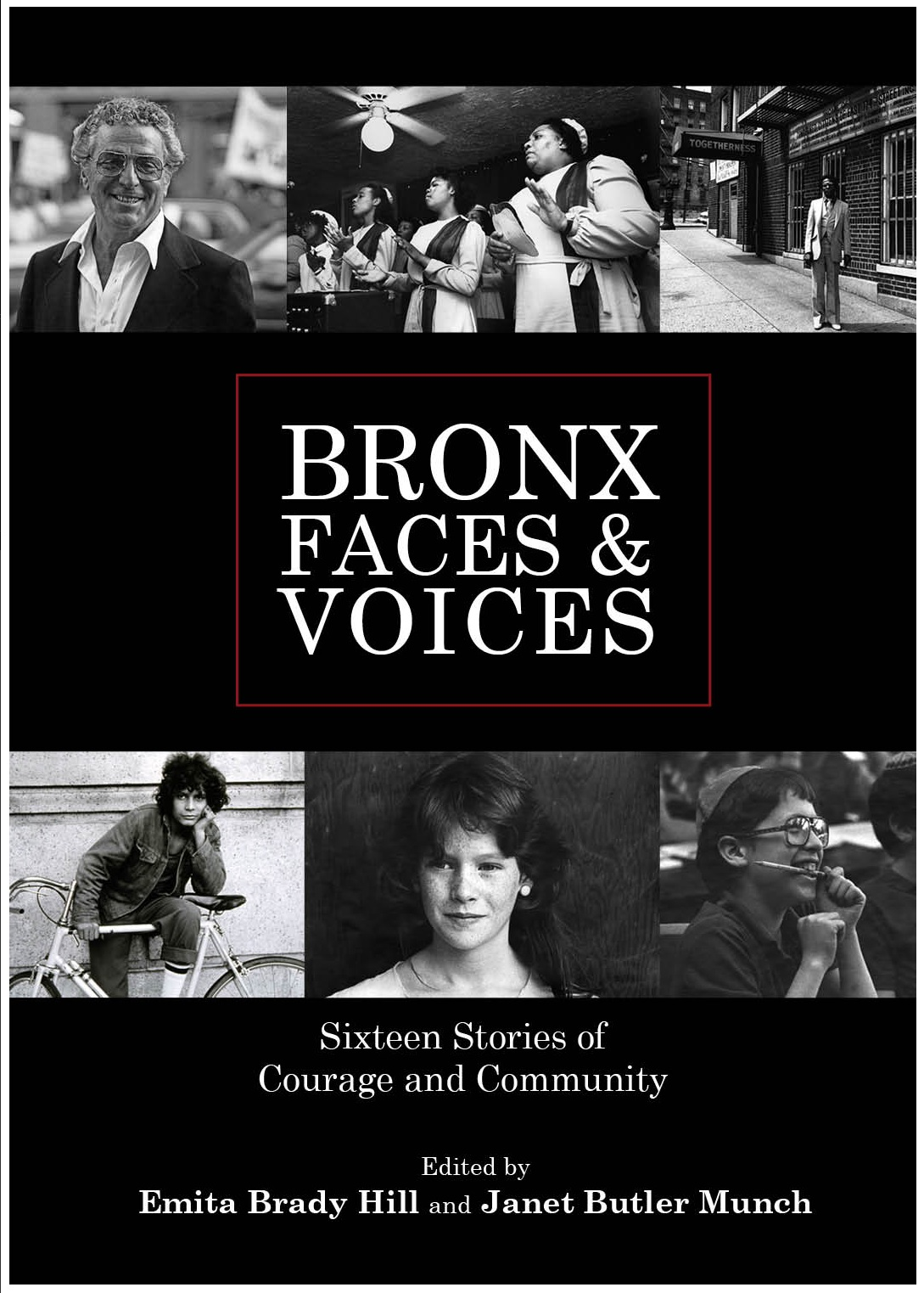 Bronx Faces and Voices Sixteen Stories of Courage and    Community  cover