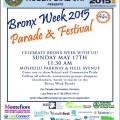 Bronx Week 2015 Parade
