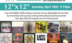BxArts Factory 1st Fundraiser this Saturday, April 18th