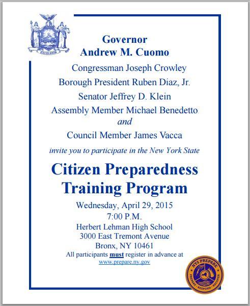 Citizen Preparedness Training_04292015-1