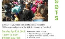 EarthFest at Pelham Bay Park April 26, 2015