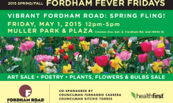 FORDHAM FEVER FRIDAYS RETURNS MAY 1ST FOR: VIBRANT FORDHAM!