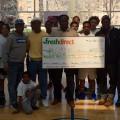 FreshDirect CBALL Donation_Larry Scott Blackmon_