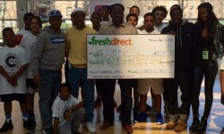 FreshDirect Donates $2000 TO C-BALL