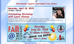 Free Printmaking Workshop at Huntington Library, April 18th