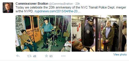 NYPD Transit Merger 20 Yrs