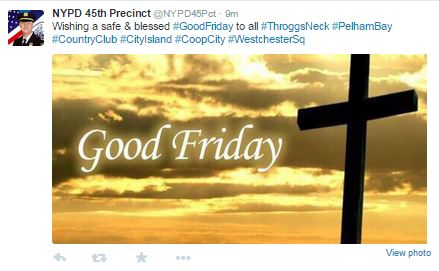 NYPD46Pct_Good-Friday message