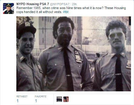 NYPD Housing Bureau PSA 7 Heroes