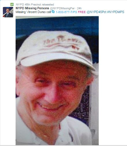 NYPD Missing Persons Bureau -- Find David Durst