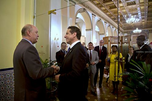 NYS Trade Mission to Cuba_Mtg with Rodrigo Malmierca Diaz (Photo courtesy of the Associated Press)