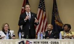 Cuomo Concludes Cuba Mission With Tour of Port Mariel