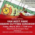 Van Nest Ribbon Cutting