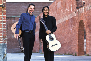 Wave Hill Concerts Brasil Guitar Duo credit Andrea Johnson