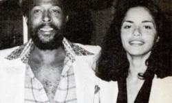 Soul Superstar Marvin Gaye and Jan Hunter-Gaye.