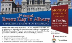 Bronx Day in Albany 2015 – June 8th – Vendors Wanted