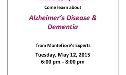 Alzheimer's Disease & Dementia Symposium – May 12th