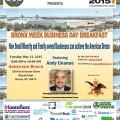 2015 Business Day Breakfast flyer