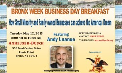 Bronx Week 2015: Small Business Workshop, May 12