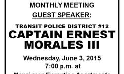 VAN NEST NEIGHBORHOOD ALLIANCE JUNE MONTHLY MEETING, WED. JUNE 3, 2015 7pm