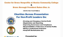 AG Schneiderman Hosts a Bronx Charities Bureau Presentation For Non-Profit Leaders