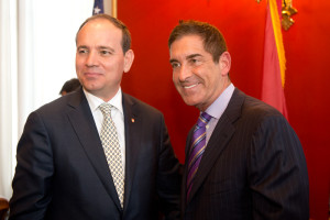 President of Albania and Senator Jeff Klein