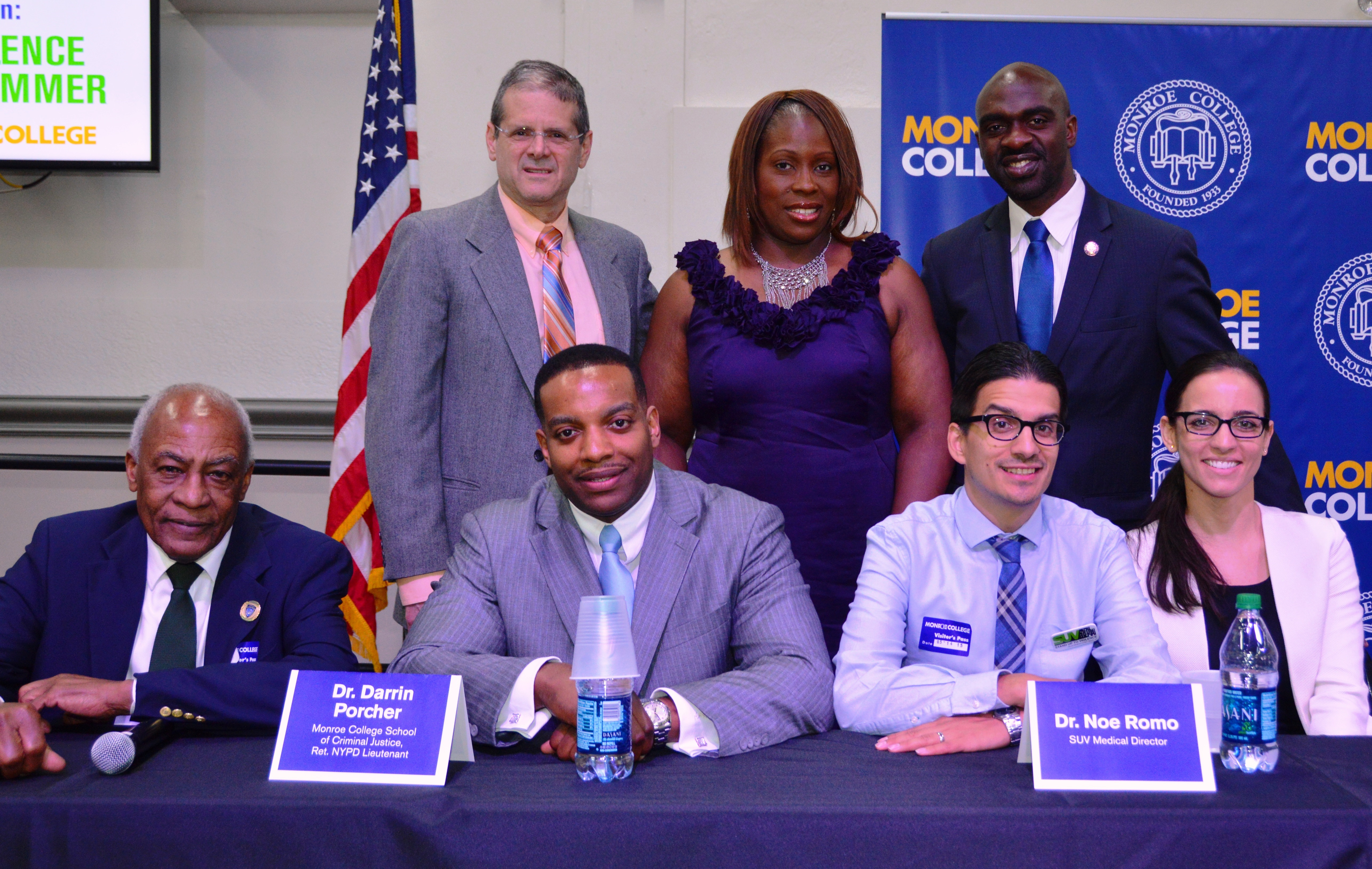 Monroe College and Jacobi Medical Center Stand Up to Violence