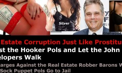 Photo Op-Ed: Punish The Hooker-Pols, Real Estate Johns Walk