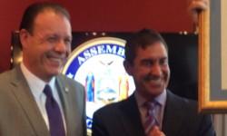 Senator Jeff Klein and Assemblyman Mark Gjonaj