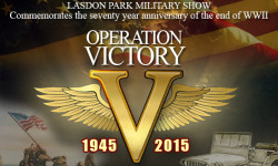 Come Celebrate Operation Victory at the Lasdon Park Military Show on Saturday, May 30 are 11 a.m. to 8 p.m.; Sunday, May 31 hours are 11 a.m. to 4 p.m.