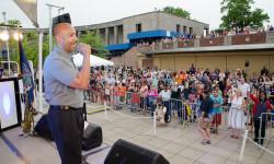 BP Diaz at 'New York Salutes America'