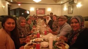 The family of my friend Joel Bhuiyan celebrating Ramadan.