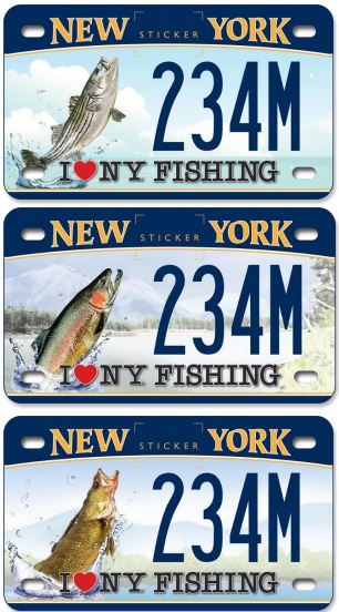 Cuomo adventure custom license plates for motorcycles for New york fishing license online