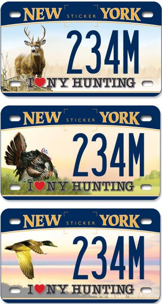 Cuomo adventure custom license plates for motorcycles for Veteran fishing license