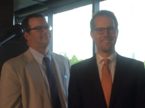 Council members Andy Cohen and Mark Levine
